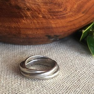 Taxco 925 Sterling Stacked Rings